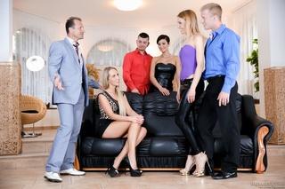soft black sofa ample