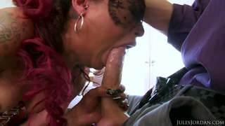 interracial anal scene double