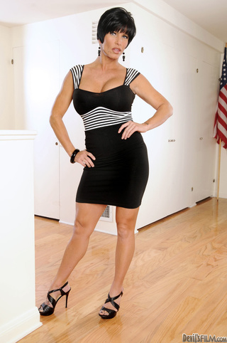 short haired milf black