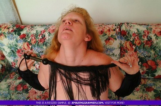 luscious granny shows hot