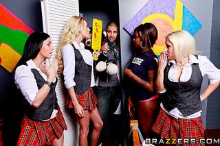 hot blonde student big