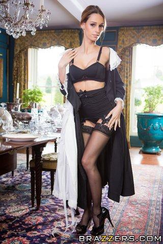 hot maid sexy garters