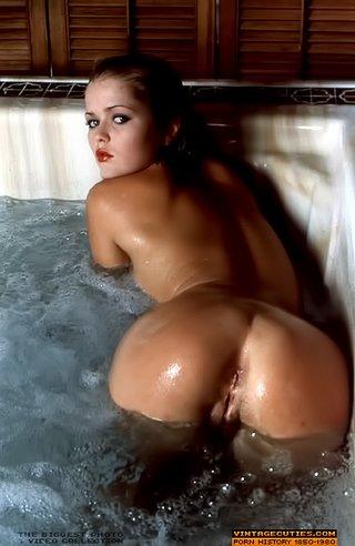 beautiful, boobs, posing, vintage