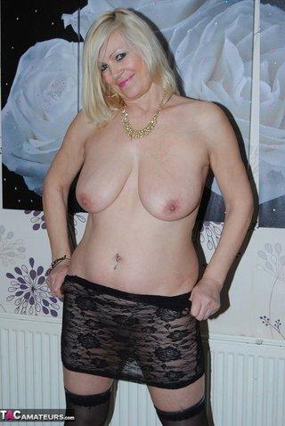 amateur, blonde, piercing, tits