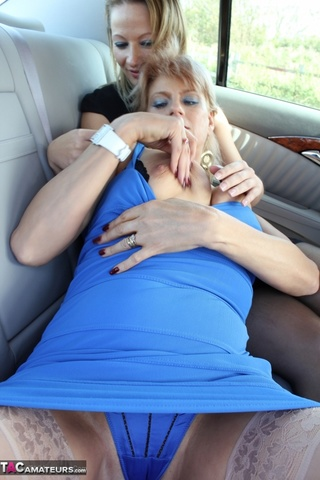 fondle kiss rub backseat