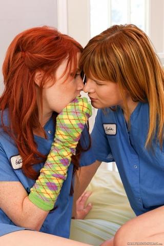cute redhead hot friend