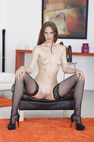 red-haired nasty babe cocks
