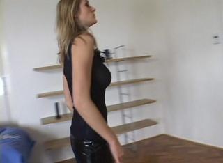 black dress brunette fucked