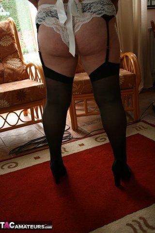 bbw maid teases humongous