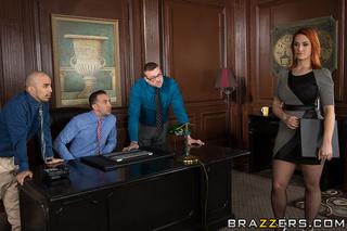 whorish office girl lets