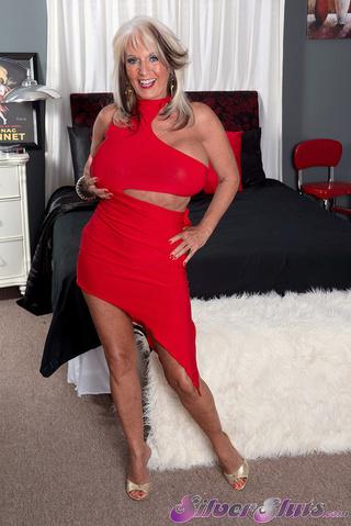 con curvas rubias tía sexy