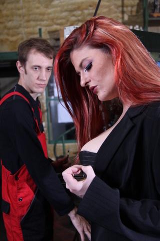 big breasted milf fucks