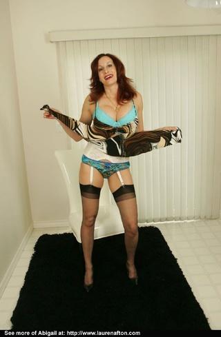 blue panties milf shows