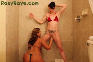 bathroom, individual model, tattoo, young