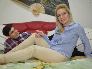 white young couple alexisvsadelin