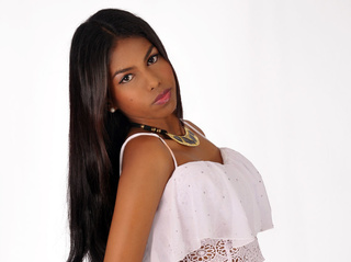 ebony teen black hair