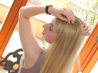 girl blonde hair nice
