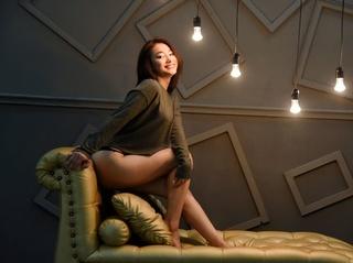 asiáticas jovencita castaña cabello