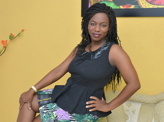 ebony mature black hair