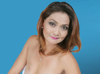 asian mature with brown