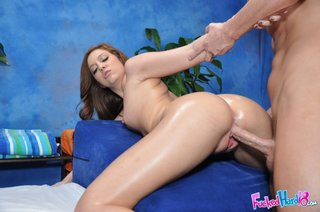 brown haired angel spreads