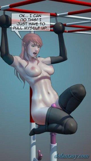 brutal torture busty slave