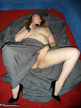 collared redhead huge breast