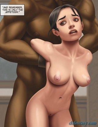 muscled black man drills