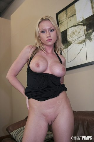 blonde bimbo big tits