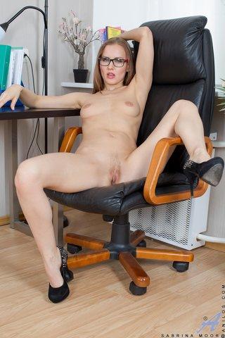 shaved milf secretary