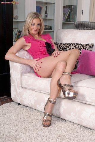 blonde, pantyhose, swingers, wife