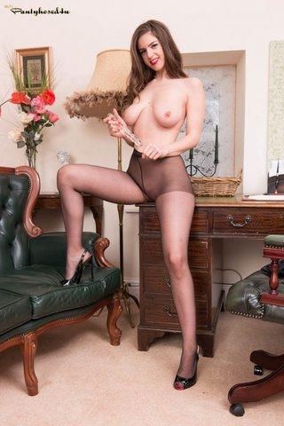 dress, pantyhose, stockings