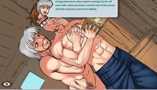 anime, hentai, muscle