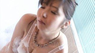 asian, big tits, pussy, shower