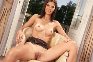 horny brown hair girl