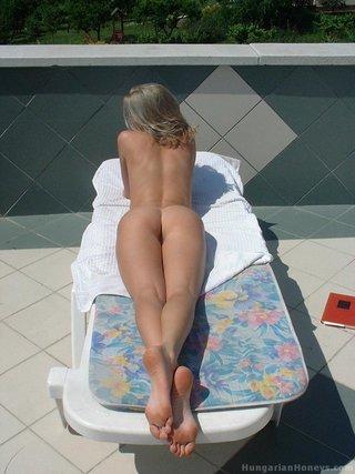 alluring blonde babe nice