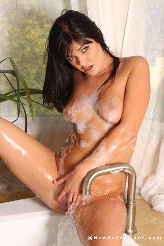 hot brunette fucked horny