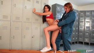 adorable teen tied