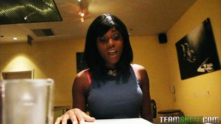 black hair brunette teen
