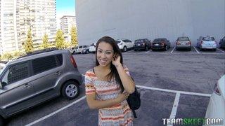 cuban brunette teen pov