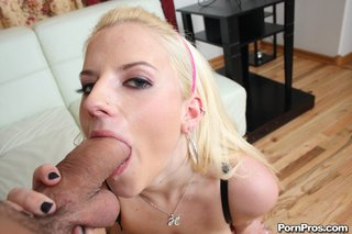 abusing tatted blonde drills