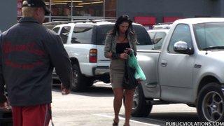 supermarket street stalks camera