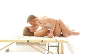 oil massage hardcore orgasm