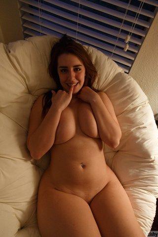 brunette amateur solo