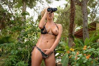 blonde mature bikini