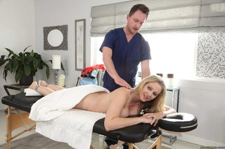 blonde dirty masseur brazzers
