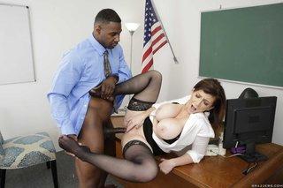 brazzers interracial school