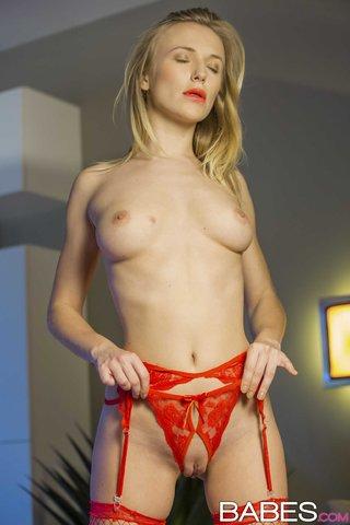 porn red lingerie
