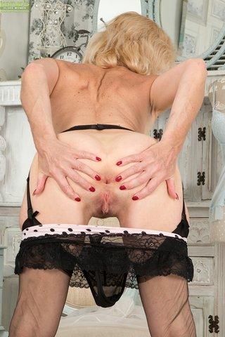 blonde british granny