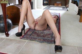 brunette mature woman